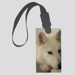 wolfs_soul Large Luggage Tag