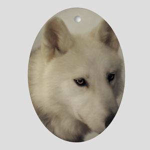 wolfs_soul Oval Ornament