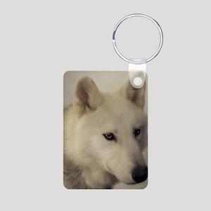 wolfs_soul Aluminum Photo Keychain