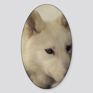 wolfs_soul Sticker (Oval)
