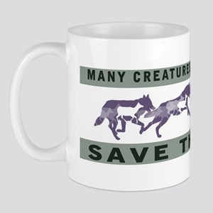 save_the_wolf Mug
