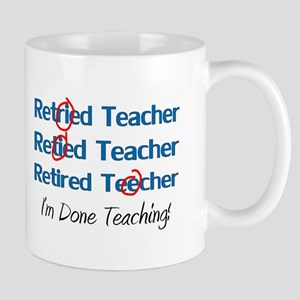 retired teacher Mugs