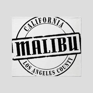 Malibu Title W Throw Blanket
