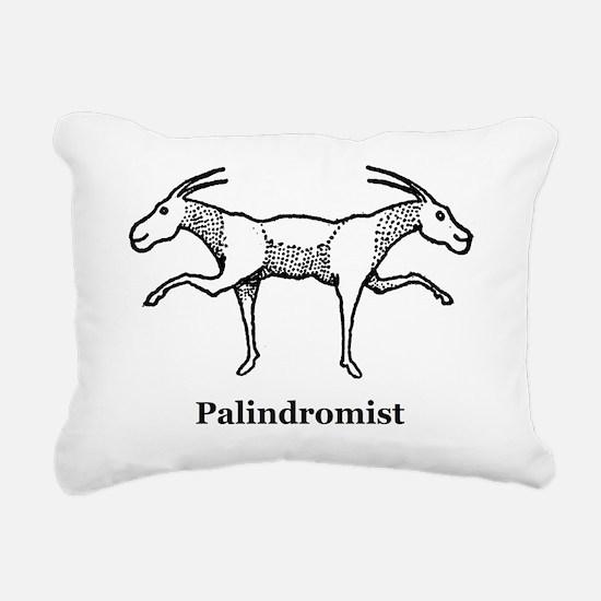 Palindromist Rectangular Canvas Pillow