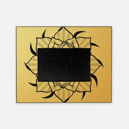 aum-goldcoin Picture Frame