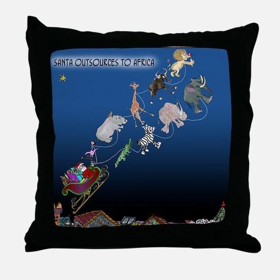 8577_christmas_cartoon Throw Pillow