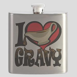 I Love Gravy Flask