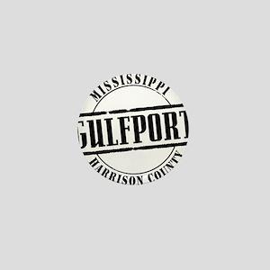 Gulfport Title W Mini Button