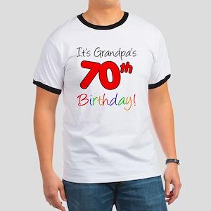 Its Grandpas 70th Birthday Ringer T