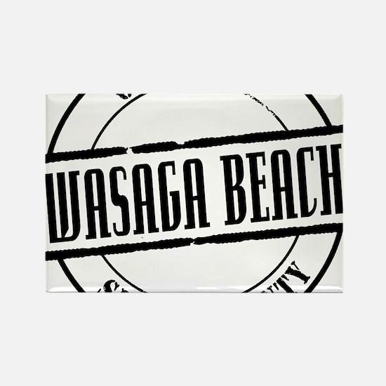 Wasaga Beach Title W Rectangle Magnet