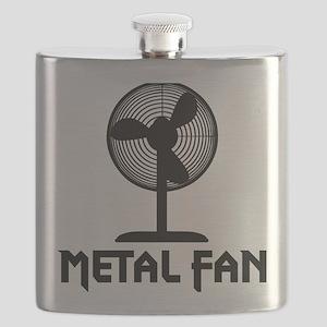 metal fanA Flask