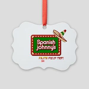 Spanish johnnys dark2 Picture Ornament