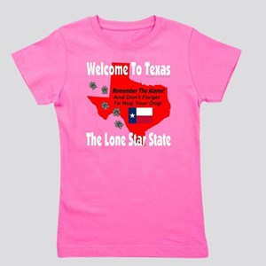 welcome_to_texas_the_lone_star_state_wh Girl's Tee