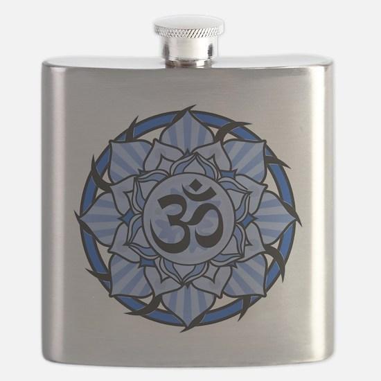 aum-blue Flask
