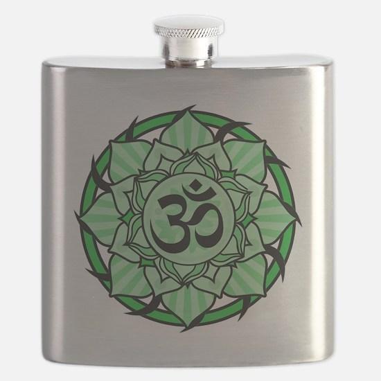aum-green Flask