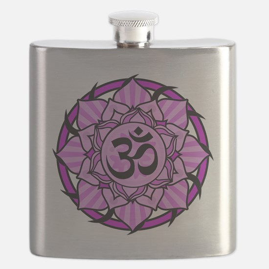 aum-purple Flask