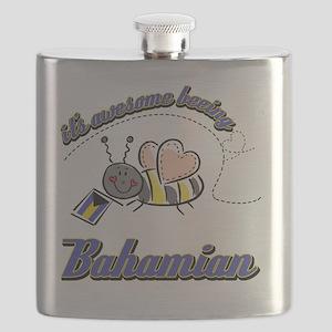bahamian-white Flask