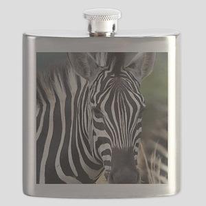 single zebra Flask