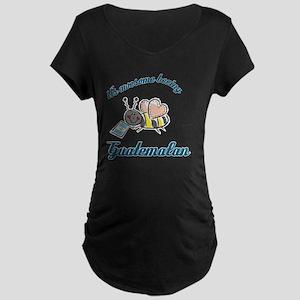 guatemalan-white Maternity Dark T-Shirt