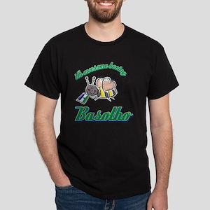 lesothoan-white Dark T-Shirt