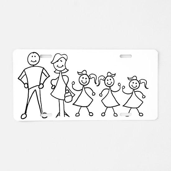 fam_MDGGG Aluminum License Plate