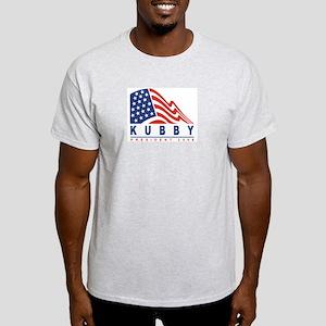 Steve Kubby - President 2008 Ash Grey T-Shirt