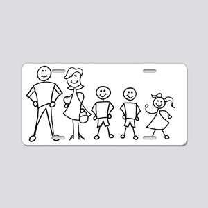 fam_MDBBG Aluminum License Plate