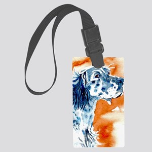 English Setter Large Luggage Tag