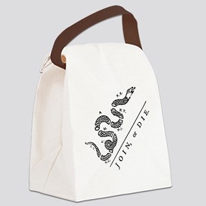 Join Or Die Canvas Lunch Bag