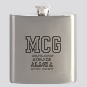 AIRPORT CODES - MCG - MCGRATH, ALASKA Flask