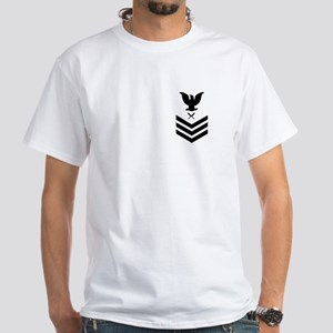 Yeoman First Class<BR> White T-Shirt