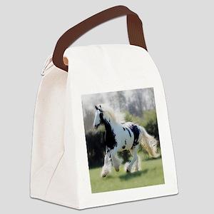 Gypsy Cob Mare Canvas Lunch Bag