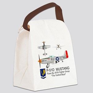 Mustang_Yeager_Front Canvas Lunch Bag
