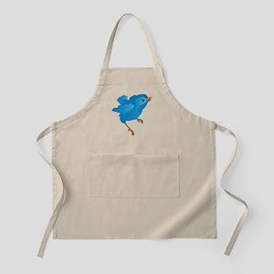 Blue Bird Apron