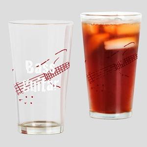 bass guitar Drinking Glass