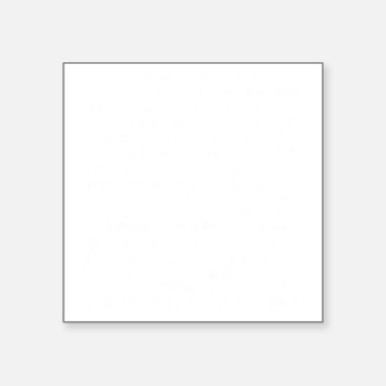 "homesick sb invert copy Square Sticker 3"" x 3"""