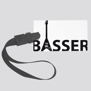 bass guitar Large Luggage Tag