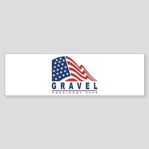 Mike Gravel - President 2008 Bumper Sticker