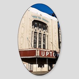 15Mar09_Uptown_186-NOTECARD Sticker (Oval)
