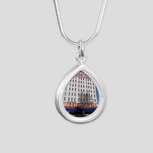 31Jan10_West Garfield Pa Silver Teardrop Necklace