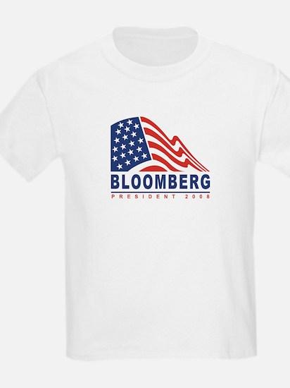 Michael Bloomberg - President Kids T-Shirt