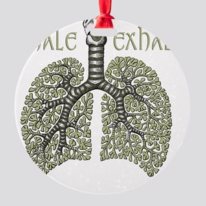 greenlungs2 Round Ornament