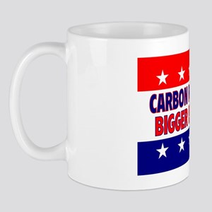 RectangleStickerCarbonFootprint Mug