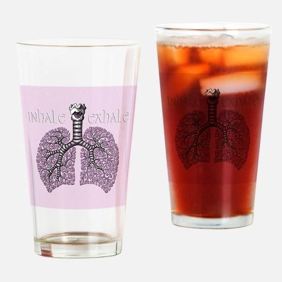 violetlungs2 Drinking Glass