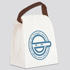 LaughingMan Canvas Lunch Bag