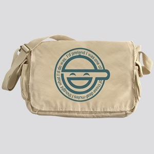 LaughingMan Messenger Bag