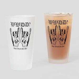 wwdd copy Drinking Glass
