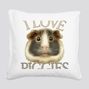guineadraw Square Canvas Pillow