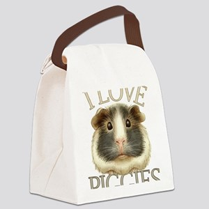 guineadraw Canvas Lunch Bag