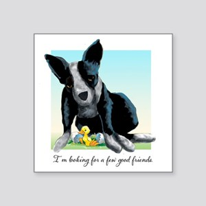 "goodfriends Square Sticker 3"" x 3"""